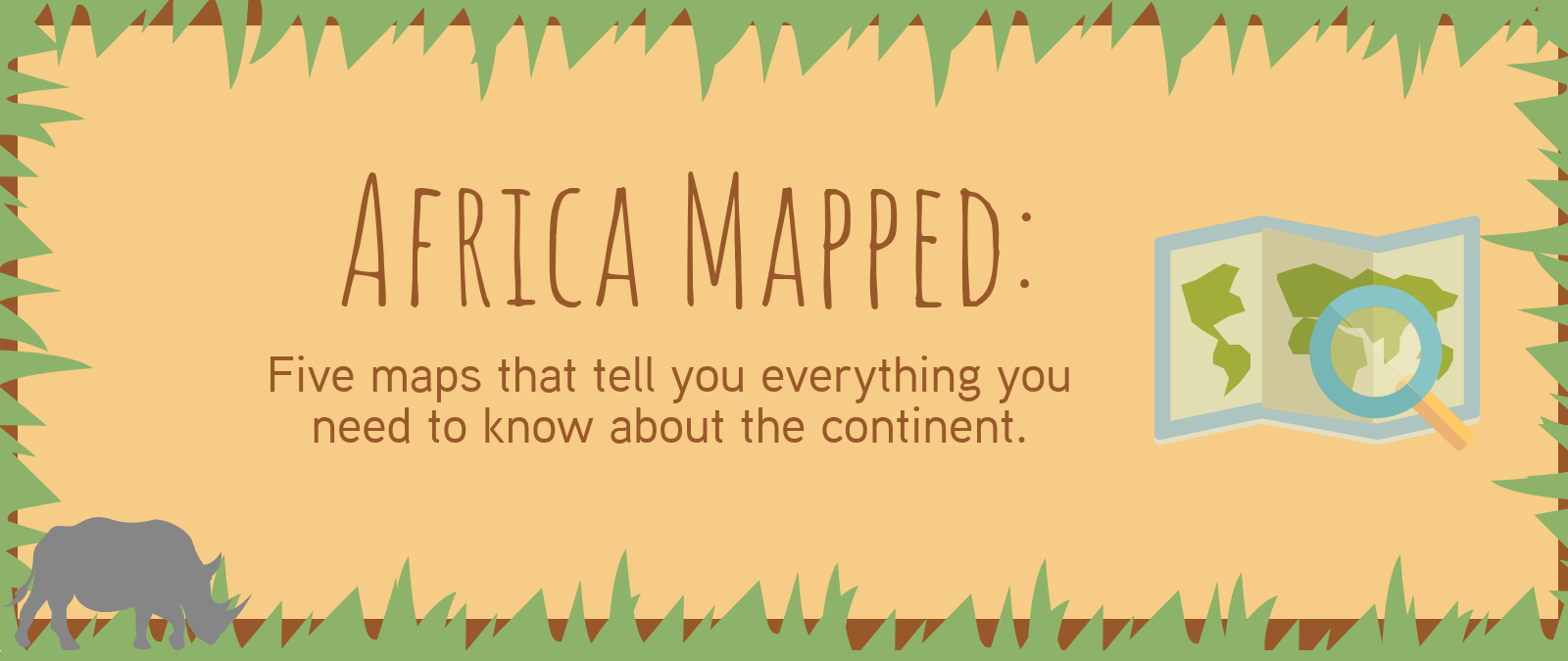 Africa mapped: the title